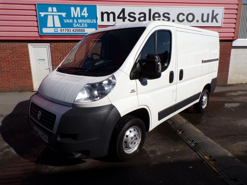 used Fiat Ducato 30 MULTIJET SWB 110PS in wiltshire