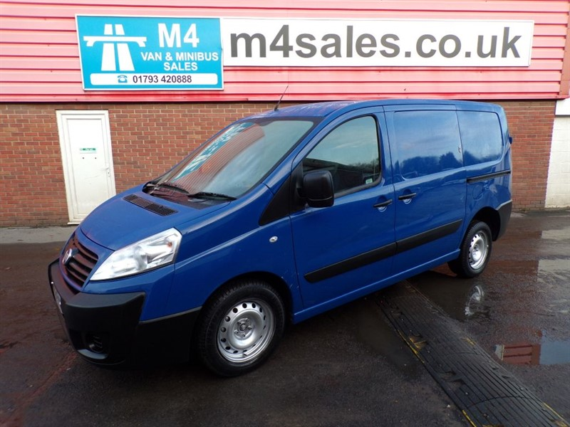 used Fiat Scudo COMFORT MULTIJET SWB 90PS in wiltshire