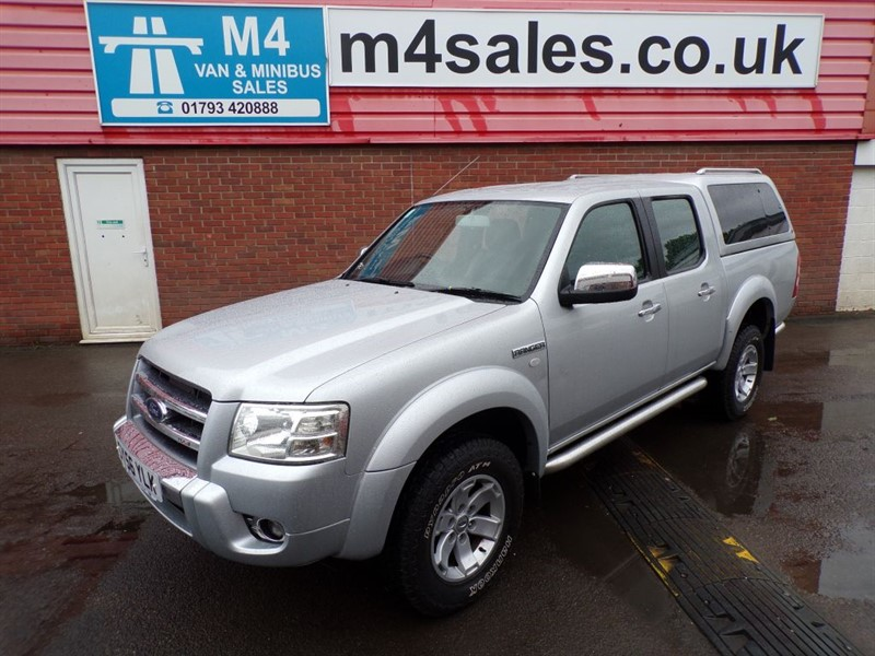 used Ford Ranger THUNDER 4X4 D/C, HARD TOP, A/C, NO VAT. in wiltshire