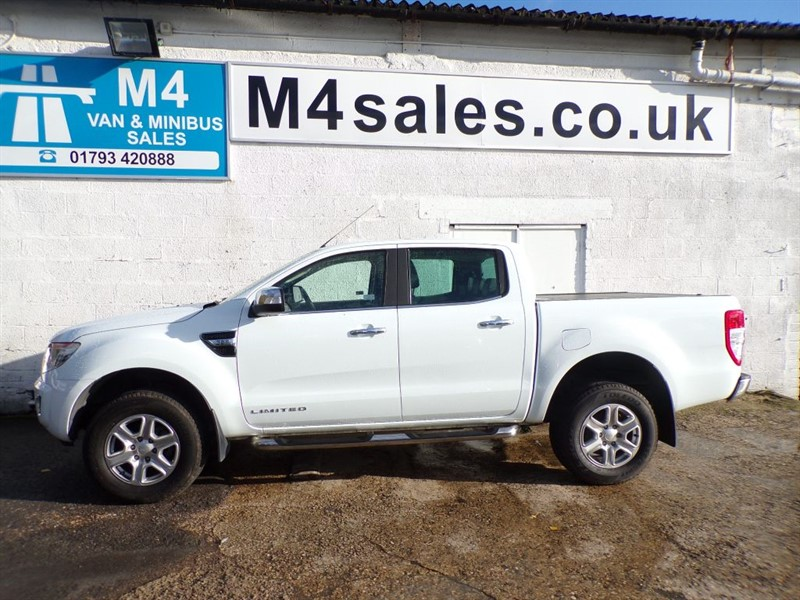 used Ford Ranger LIMITED 4X4 DCB TDCI in wiltshire