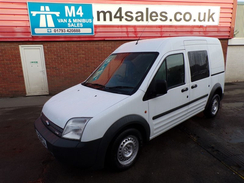 used Ford Tourneo Connect TDCI LX LWB CREWVAN A/C in wiltshire
