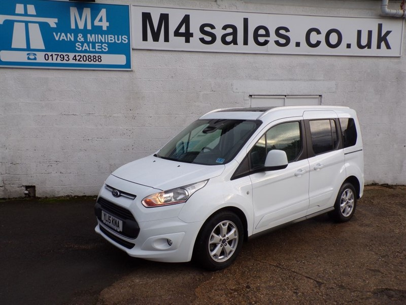 used Ford Tourneo Connect TITANIUM TDCI NO VAT in wiltshire