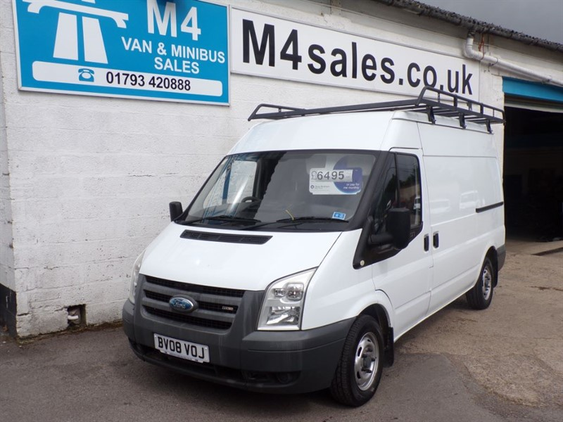 used Ford Transit 280 MWB SHR in wiltshire