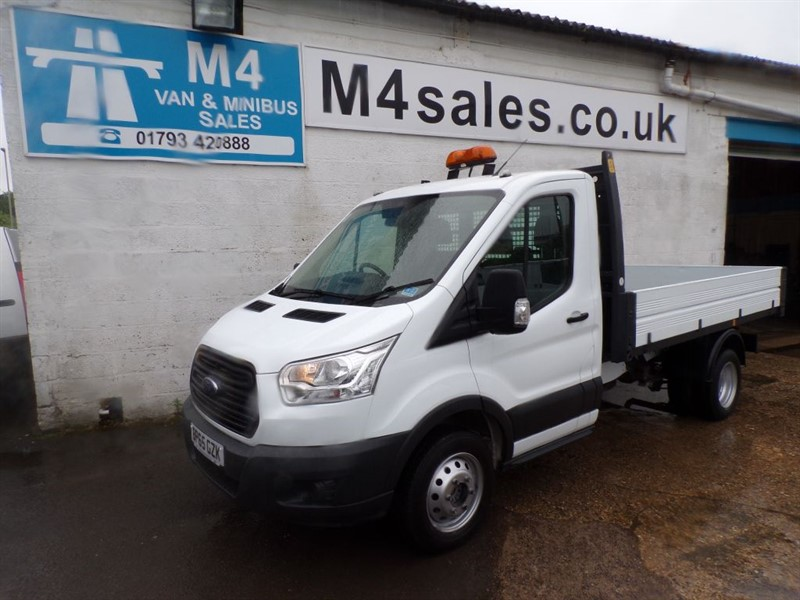used Ford Transit 350  TWIN REAR WHEELS 1 STOP BOBY in wiltshire