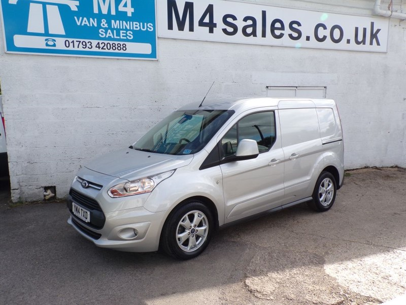 used Ford Transit Connect 200 LIMITED SWB 90PS in wiltshire