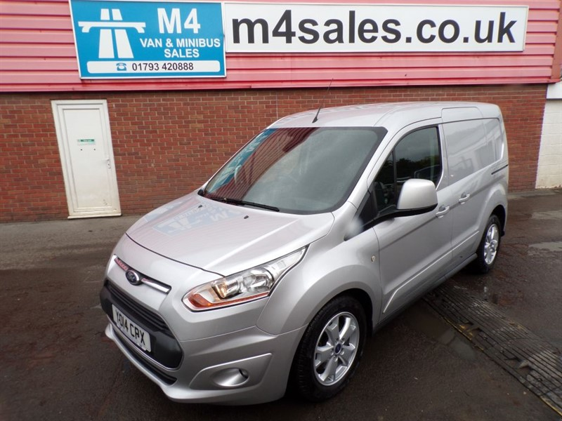 used Ford Transit Connect 200 LIMITED SWB L/R A/C in wiltshire