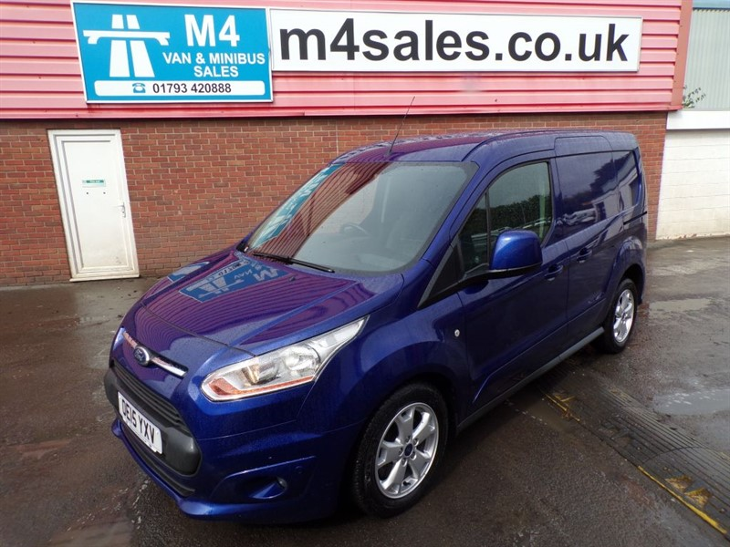 used Ford Transit Connect 200 LIMITED SWB L/R 85PS A/C in wiltshire