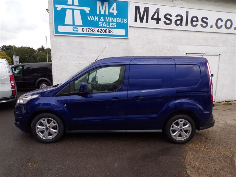 used Ford Transit Connect 200 LIMITED SWB 115PS A/C in wiltshire