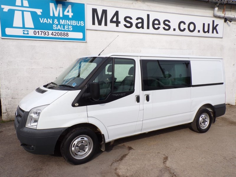 used Ford Transit 280 MWB CREW VAN A/C 115PS in wiltshire