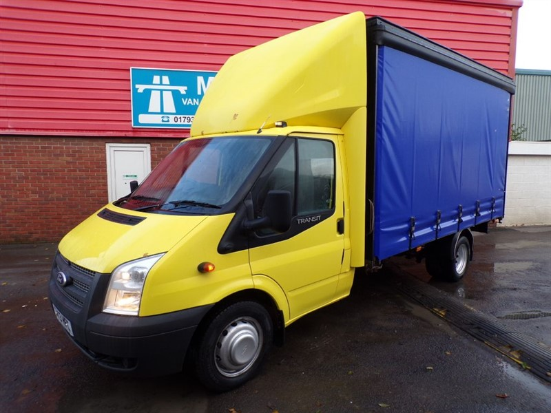 used Ford Transit 13FT CURTAIN SIDER 155PS in wiltshire