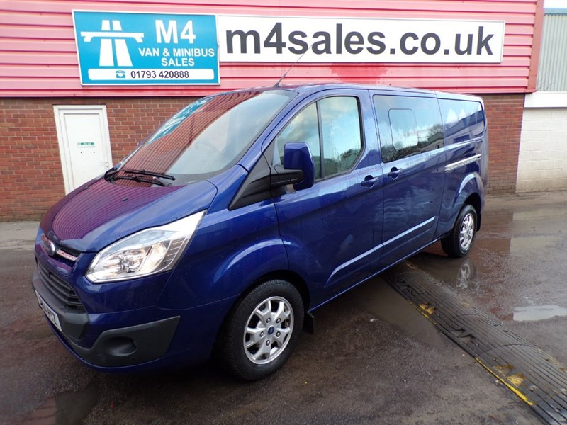 used Ford Transit Custom 290 LIMITED CREW VAN 125PS A/C in wiltshire