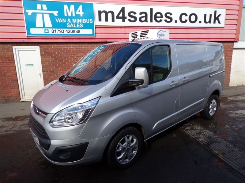 used Ford Transit Custom 270 LTD FRIDGE NO VAT in wiltshire