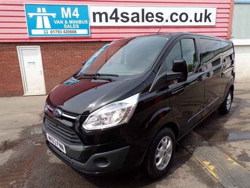 used Ford Transit Custom 290 LTD LIMITED LWB WITH A/C 125PS in wiltshire