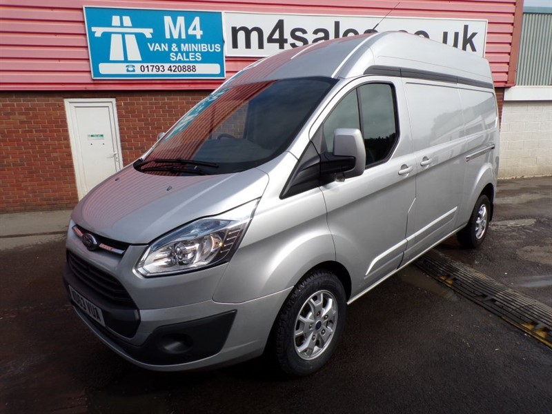 used Ford Transit Custom 290 LIMITED L2 H2 A/C 125PS in wiltshire