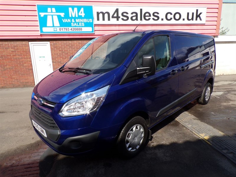used Ford Transit Custom 290 TREND LWB WITH A/C  in wiltshire