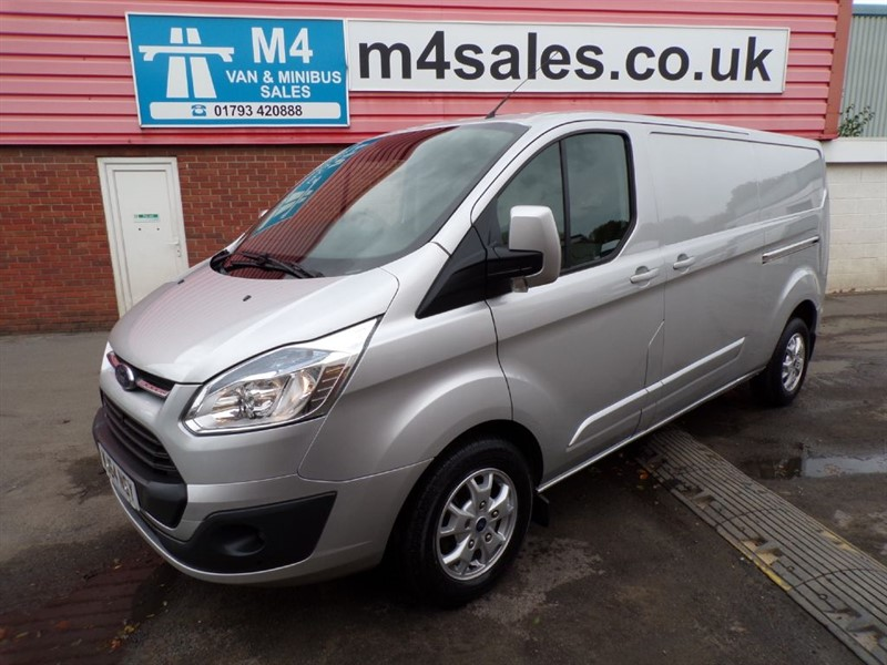 used Ford Transit Custom 290 LIMITED LR LWB A/C in wiltshire