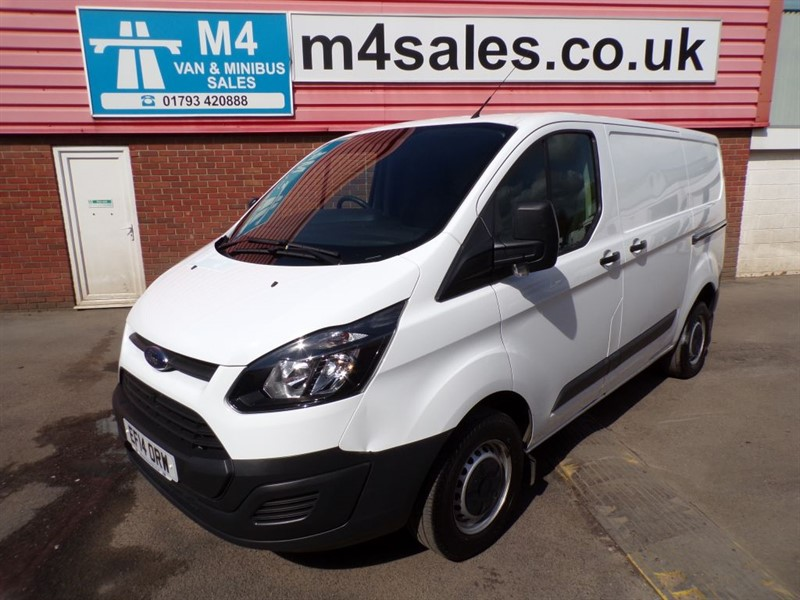 used Ford Transit Custom 290 SWB WITH A/C in wiltshire