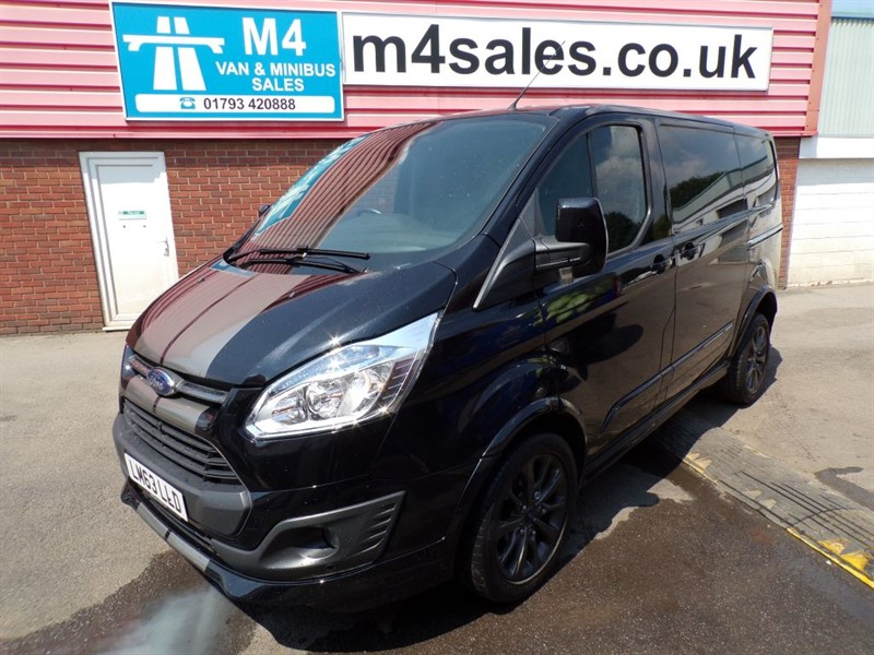 used Ford Transit Custom 290 SPORT LR SWB 155PS A/C in wiltshire