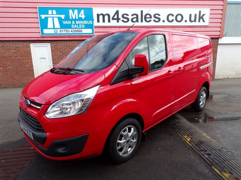 used Ford Transit Custom 290 LIMITED L/R SWB 125PS A/C in wiltshire