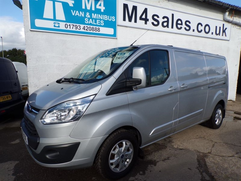 used Ford Transit Custom 290 LIMITED LR P/V in wiltshire