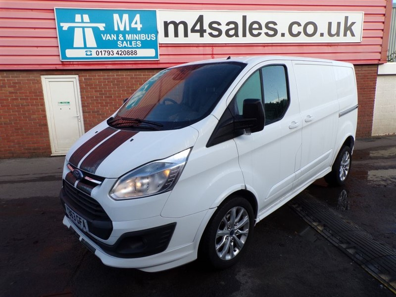 used Ford Transit Custom 290 SPORT LR SWB 155PS A/C *NO VAT* in wiltshire