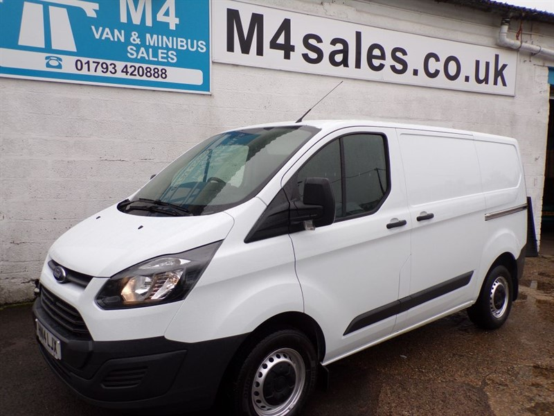 used Ford Transit Custom 270 LOW ROOF ECO-TECH in wiltshire