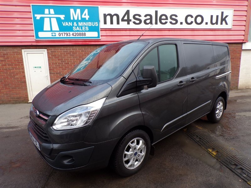 used Ford Transit Custom 270 LIMITED L/R SWB E-TECH A/C in wiltshire