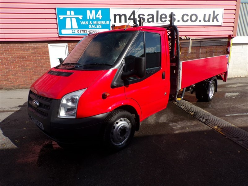 used Ford Transit 350 LWB S/C DROPSIDE WITH TAIL LIFT in wiltshire