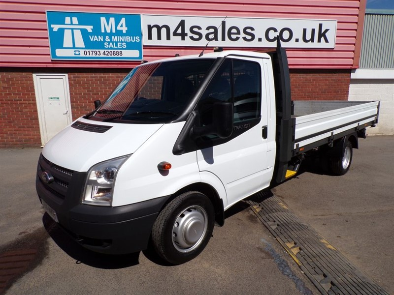 used Ford Transit 350 LWB DROP/SIDE 1 STOP BODY 125PS in wiltshire