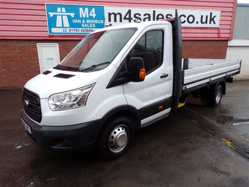 used Ford Transit 350 S/C DROPSIDE 125PS in wiltshire
