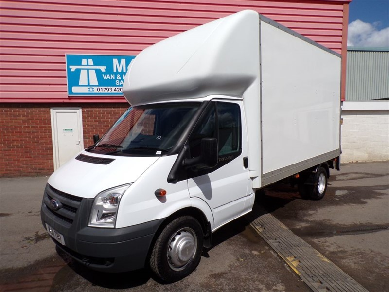used Ford Transit 350 LWB LUTON 100PS in wiltshire
