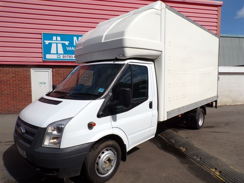 used Ford Transit 350 LWB LUTON WITH T/LIFT 135PS in wiltshire