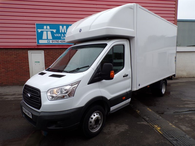 used Ford Transit 350 LWB LUTON WITH TAIL LIFT 100PS in wiltshire