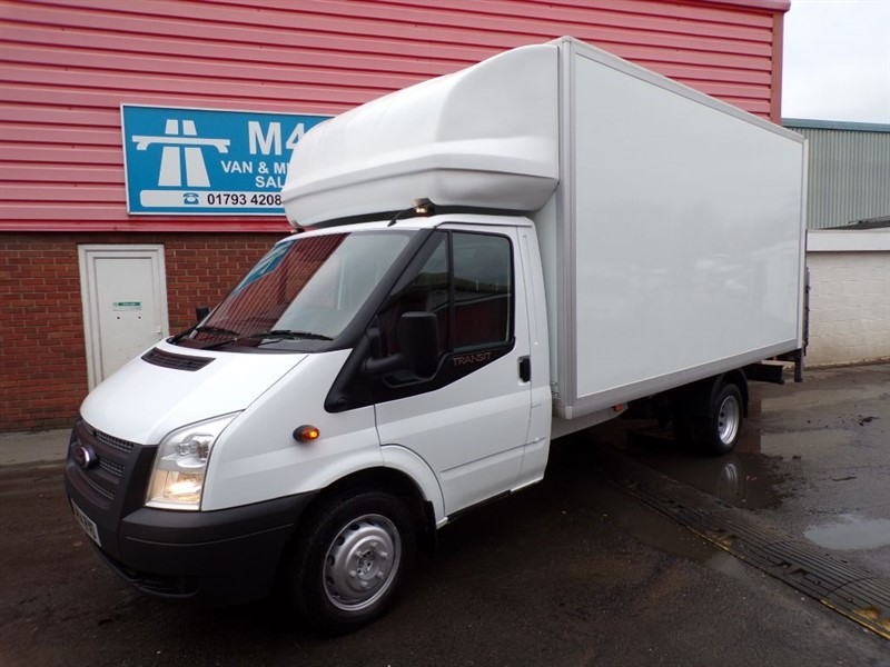 used Ford Transit 350 LWB LUTON T/LIFT 125PS in wiltshire
