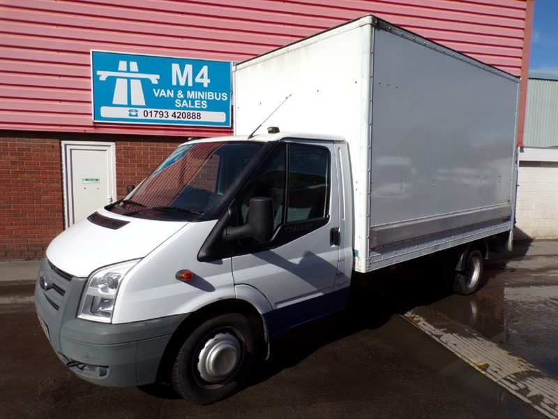 used Ford Transit 350 Box with tail lift only 15000 miles in wiltshire
