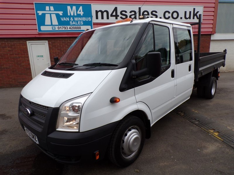 used Ford Transit 350 CREWCAB TIPPER 125PS in wiltshire