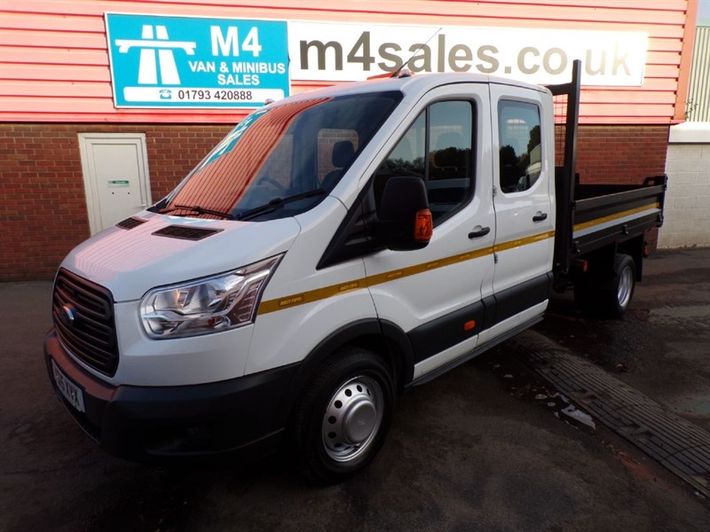 used Ford Transit 350 1 STOP BODY CREW CAB TIPPER in wiltshire