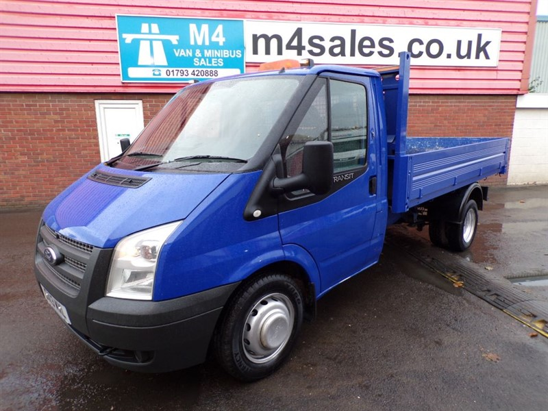 used Ford Transit 350 RWD S/C TIPPER 125PS in wiltshire