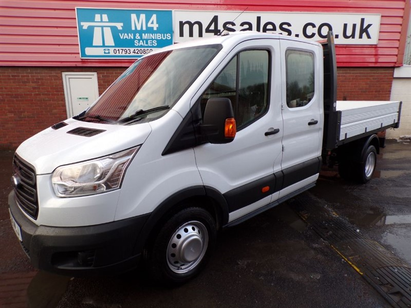 used Ford Transit 350 1 STOP D/C TIPPER 100PS in wiltshire