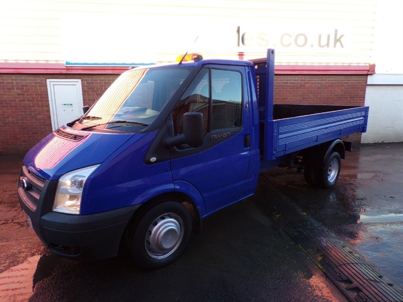 used Ford Transit 350 RWD TIPPER 125PS in wiltshire