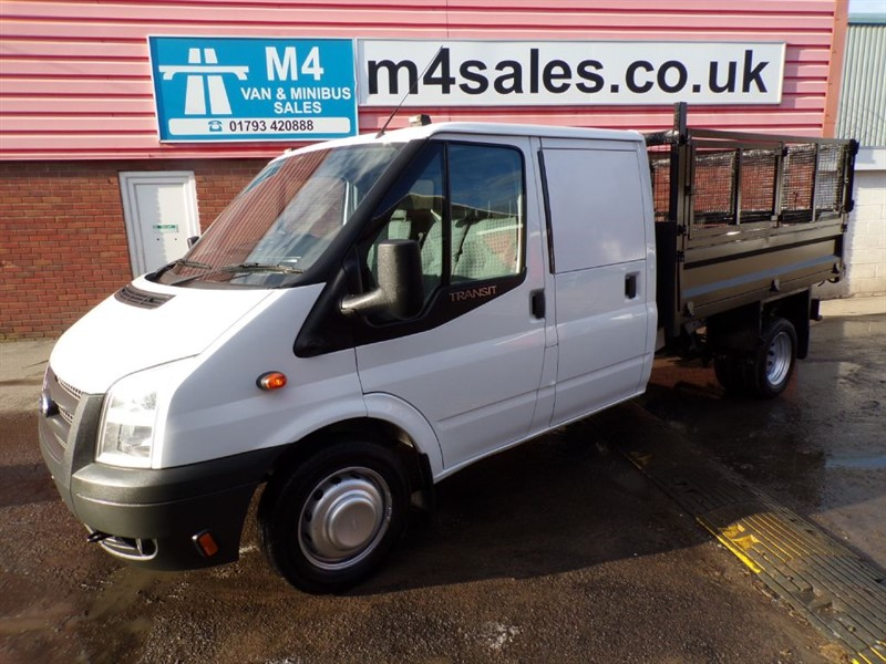 used Ford Transit 350 CREW CAB TIPPER 100PS in wiltshire