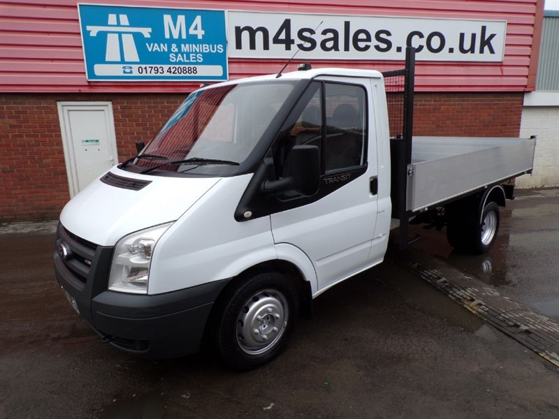 used Ford Transit 350 TIPPER MWB 100PS in wiltshire