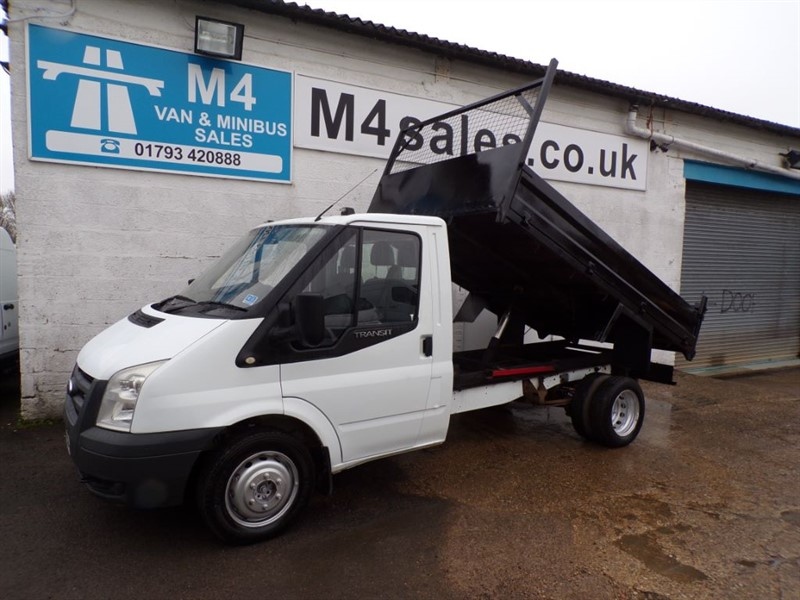 used Ford Transit 350 NO VAT TIPPER 100PS in wiltshire