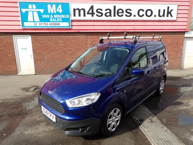 used Ford Transit COURIER TREND TDCI 95PS NO VAT in wiltshire