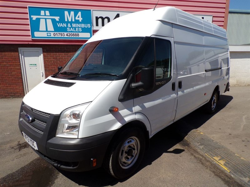 used Ford Transit 350 H/R EXLWB JUMBO 125PS in wiltshire
