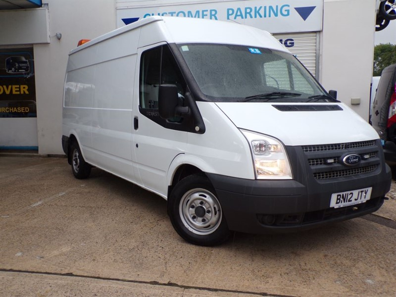 used Ford Transit 300 LWB M/R 140PS in wiltshire