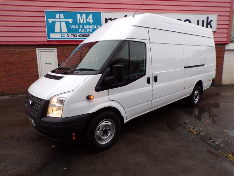 used Ford Transit 350 HIGH ROOF JUMBO 350 RWD 2.2 125PS  in wiltshire