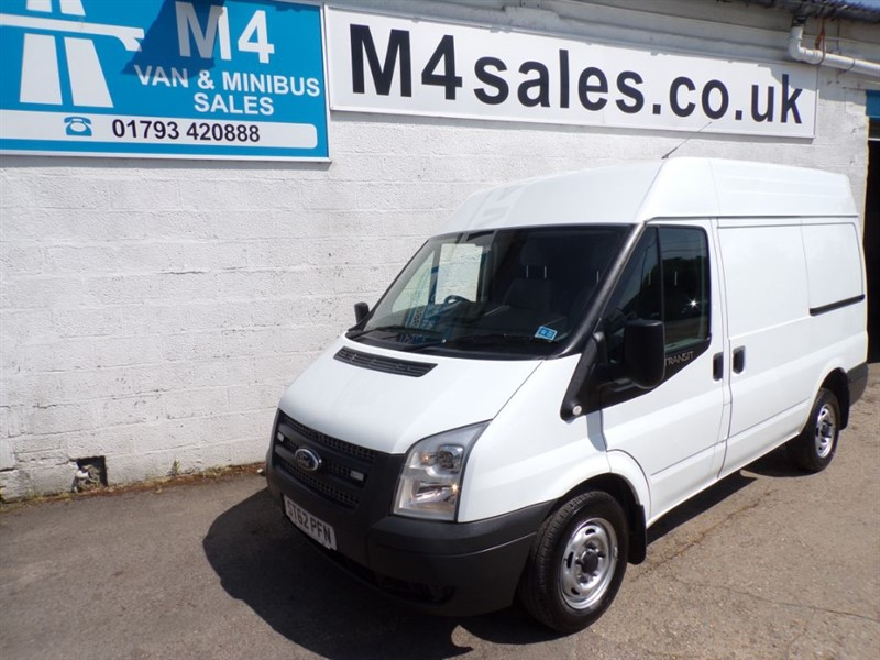 used Ford Transit 260 FWD SWB MEDIUM ROOF 100PS in wiltshire