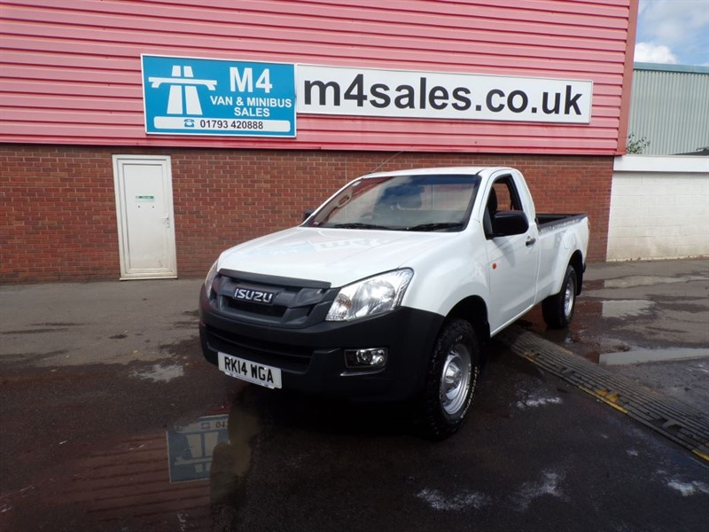 used Isuzu D-Max TD S/C 4X4 PICKUP A/C in wiltshire