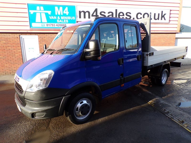 used Iveco Daily 35C 15 DROPSIDE DOUBLE CAB 150PS in wiltshire